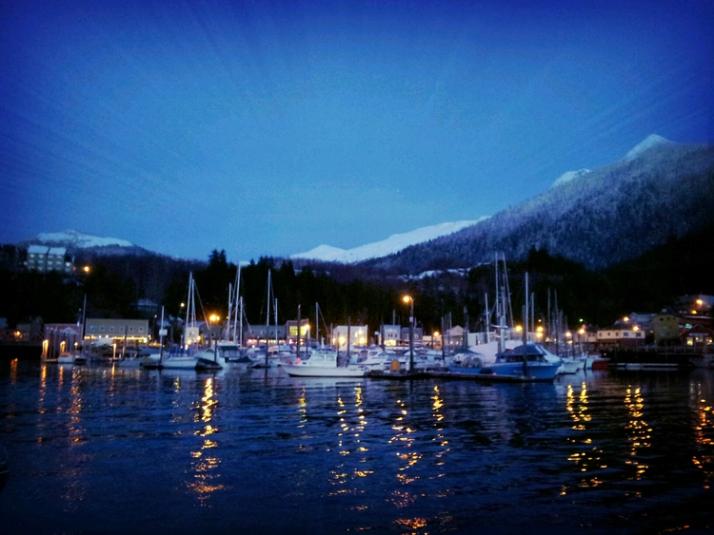 Winter+afternoon+in+Ketchian,+Alaska